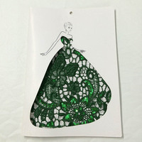 Wholesale Lace 100yards/lot Green Embroidery Lace Sequin Fabric Lace Trim For Women Wedding Dress DIY Accessories DHL Shipping