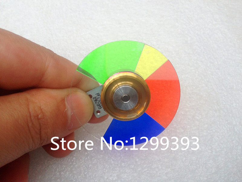 Projector Color Wheel for  VIVITEK D508 D509 D510 D518 D511 free shipping new original projector color wheel for vivitek d742hdc color wheel 1pcs