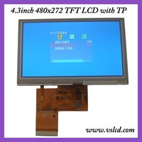 4.3 inch LCD Screen 480X272 Resolution With Touch Panel VS043T-004AT