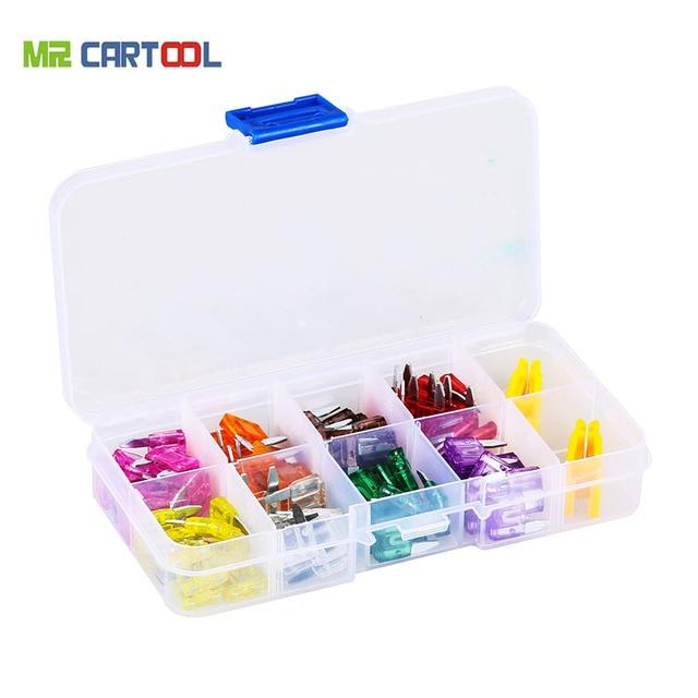 fuse box 80pcs mini car atn fuse set assortment 3a 5a 7 5a 10a 15a rh aliexpress com