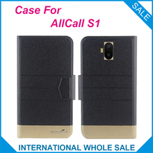 5 Colors Original! AllCall S1 Case High Quality Flip Ultra-thin Luxury Leather Protective Cover Case For AllCall S1 Cover Phone