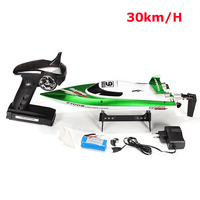 FeiLun FT009 4Channel 2.4GHz Remote Controller Brushed Motor Speedboat RC Racing Boat High Speed 30KM/H Water Cooling System RTR