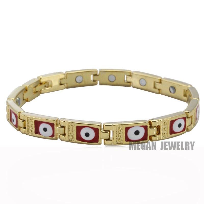 muslim turkish Evil Eye stainless steel Bracelets for man & women , High Quality islam religion gift & jewlery
