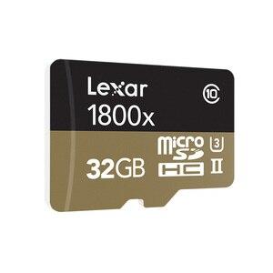 Image 2 - 100% 원래 lexar 마이크로 sd 카드 1800x tf 플래시 메모리 카드 32 gb sdxc 270 메가바이트/초 카타오 드 memoria 클래스 10 u3 microsd 카트