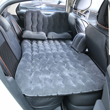 Outdoor Camping Travel Bed Moisture-proof Pad Car MPV SUV Car Back Seat Cover auto Travel Mattress Air Inflatable Bed with pump цена 2017