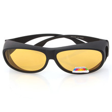Brand New Windproof Glasses Goggles UV 400 Protection PC Material Light Night Vision Goggles for Night Driving