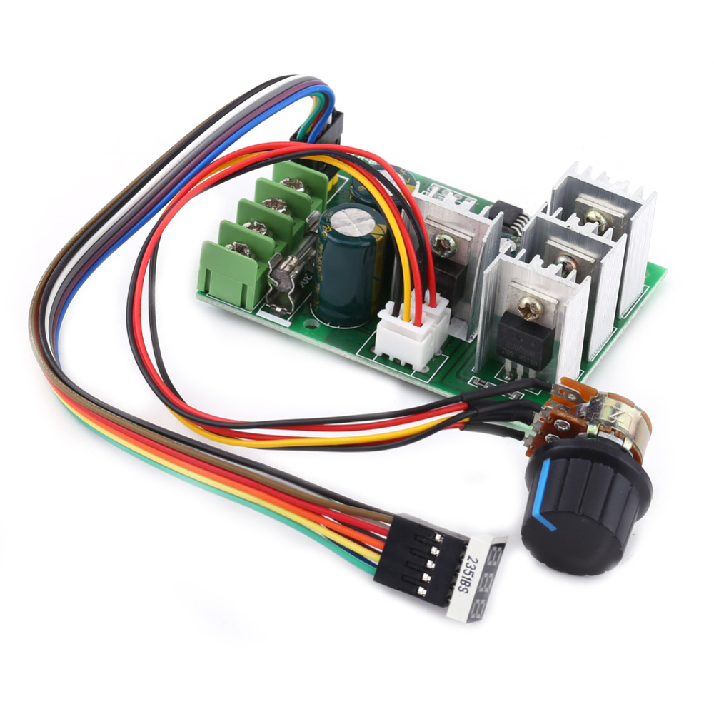 Dc 6v 60v 30a Variable Speed Motor Controller Driver Control With Using This Circuit It Is Possible To The Of Motors Gs00868 1