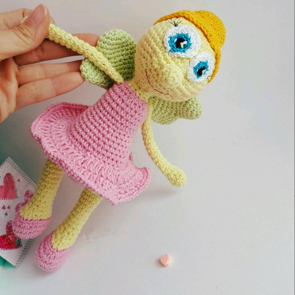 Crochet Toys  Amigurumi  Doll Girl  Model    Number TS041301