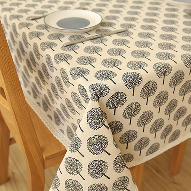 Table Cloth Mesa Round Tablecloth Dining Table Lace Manteles Embroidery  Modern Decoration Doilies Luxury Tablecloths QQO480
