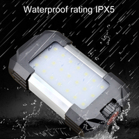 15WMini LED Portable Lantern USB Rechargeable LED Camping Lantern Flashlight Waterproof Tent Light for Outdoor Hiking Emergency