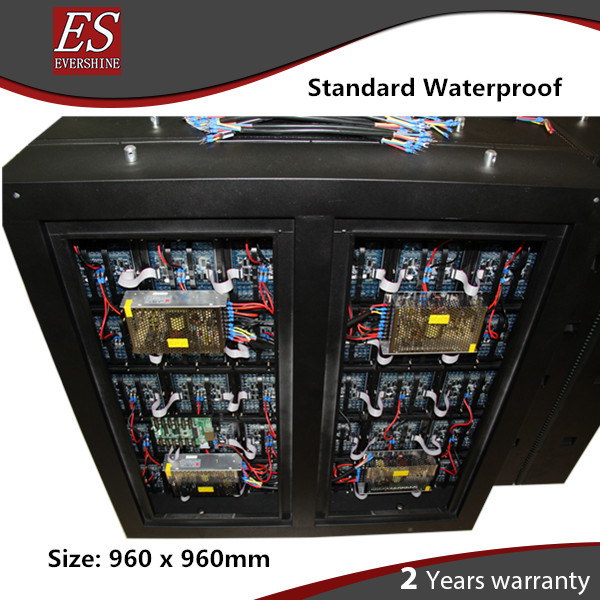 3 years Warranty P10 Outdoor Video LED Screen Size 0.96m x 0.96m With Controller System years
