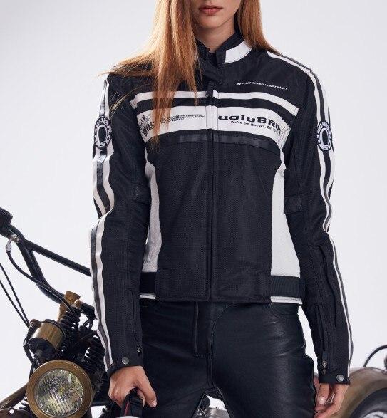MS летние сетчатые moto rcycle куртка Uglybros UBJ 108 куртка защитная куртка moto крест куртка