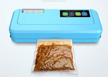 Vacuum Food Sealers commercial packaging machine plastic bag dry wet double sealing small household NEW