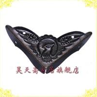 Ev Dekorasyonu'ten Otomatik Kapı Operatörleri'de [Haotian vejetaryen] antik Ming bakır parçaları/c ekmek açı/bagaj açı/bakır sarma açısı HTG 060