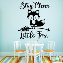 Classic Little Fox Home Decor Modern Acrylic Decoration Children House For Kids Rooms