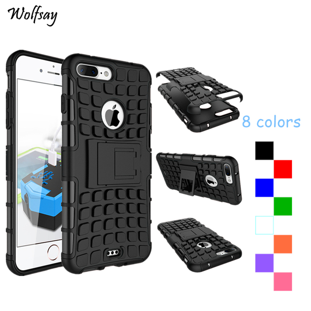 newest 05275 17e3a US $3.18 24% OFF|Wolfsay For Cover Apple iPhone 7 Plus Case Silicone  Unbreakable Case For Apple iPhone 8 Plus Case For Fundas iPhone 7 Plus  Cover-in ...