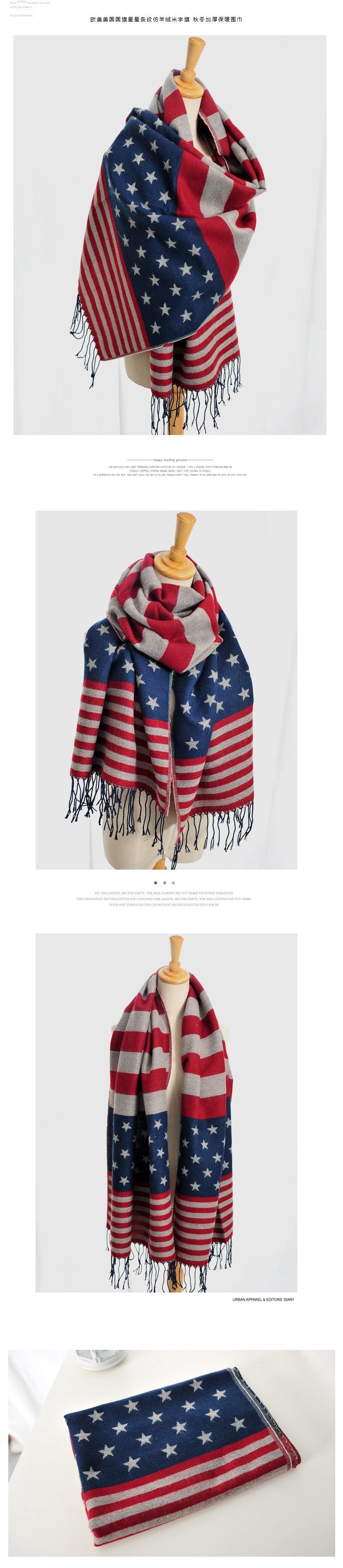 018b0e990d24 2016 bandeira americana infinito cachecol echarpes foulard mulheres ...