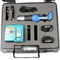 Şarj edilebilir elektrikli hidrolik basınç boru anahtarı PEX pil boru hidrolik sıkma araçları Viega tipi bakır EZ 1528|tools for|tool crimptool tool -