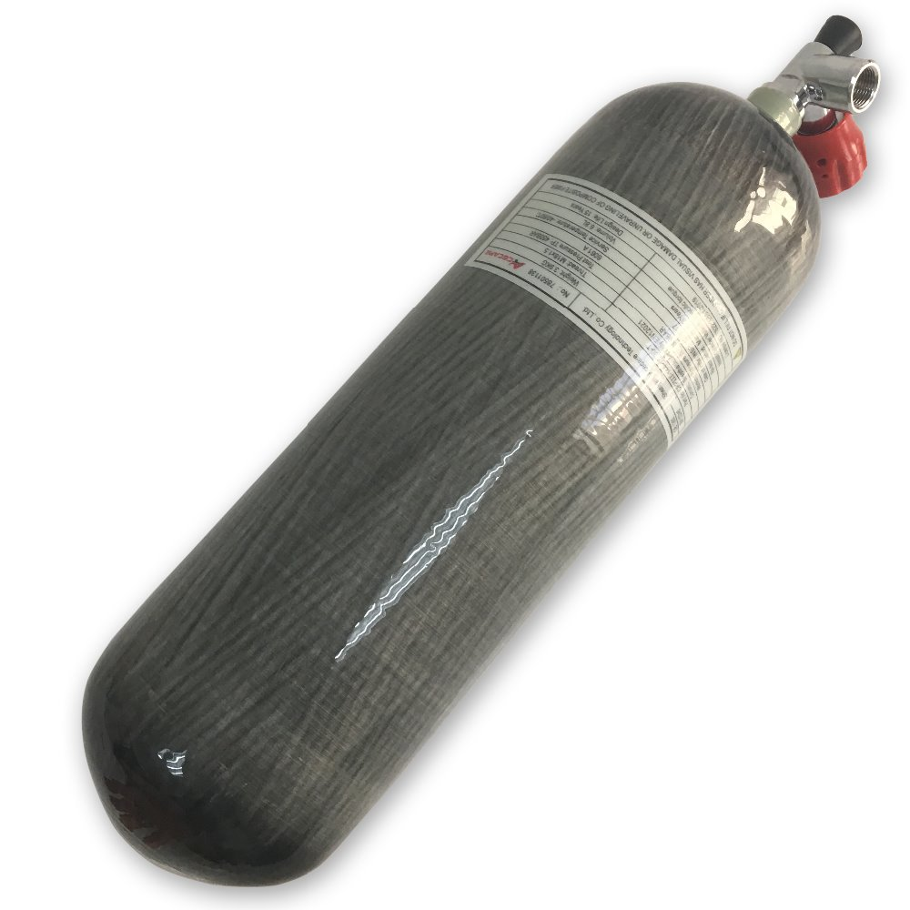 AC16811 Factory Directly Supply! 4500psi 300bar 6.8L Carbon Fiber Cylinder Diving Bottle For Airsoft Gas Drop Shipping Acecare