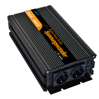 DC 24V to AC 220V 2500W 5000w pure sine wave power inverter with remote controller converters