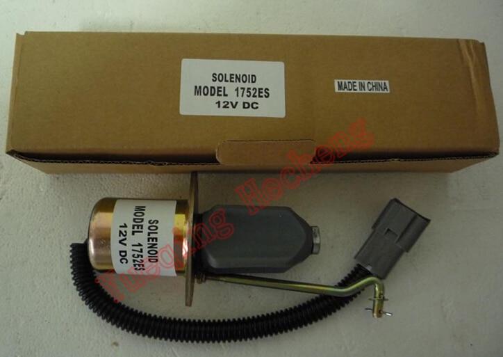 Carburante Arresto Solenoide di Arresto 1752ES SA-4014Carburante Arresto Solenoide di Arresto 1752ES SA-4014