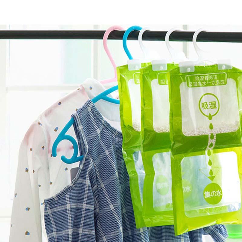 Hangable Wardrobe Moldproof Moisture Proof Dehumidification Bag Moisture Absorbing Bag Odor Absorber