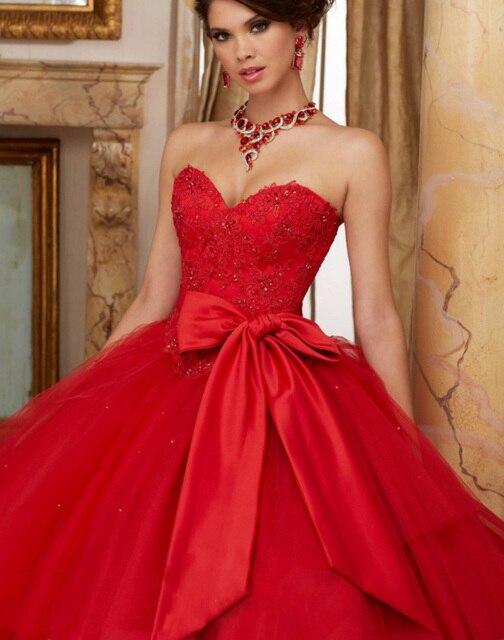 borgoña quinceanera vestidos de novia de encaje rojo vestido durante