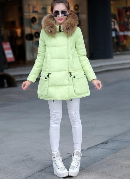 ФОТО Lisa Colly New 2015 winter women thicken coat warm long fur coat slim cotton padded women parka coat women  jackets
