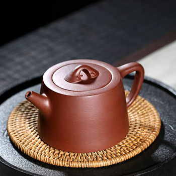 TaoYuan 】 yixing famous xiao-lu li recommended undressed ore pure handmade suits the wishing well bar the teapot