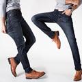 NIANJEEP Autumn Jeans Men Plus Size 40 Designer Cotton Stretch Denim Large Big Size Pants Trousers Brand Jean For Men