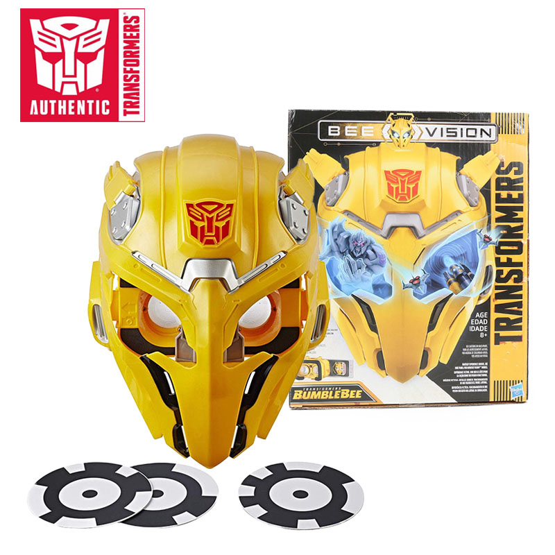 Transformers Toys Movie 6 Bee Vision Bumblebee AR Experience AR Mask AR Goggles Halloween Cosplay Fullface Mask Christmas GiftTransformers Toys Movie 6 Bee Vision Bumblebee AR Experience AR Mask AR Goggles Halloween Cosplay Fullface Mask Christmas Gift