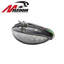 Универсальный индикатор сигнала сзади Хвост Стоп Тормозная номерной знак лампы свет мотоцикл ATV Quad Багги Chooper