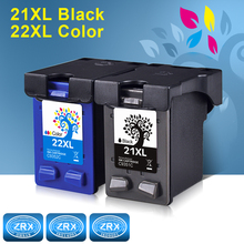 2pcs Ink Cartridge for HP 21XL HP21XL HP 22XL HP22XL C9351C C9352C for HP Deskjet 3910 3915 3920 3930 3940 D1311 D1320 D1330(China)