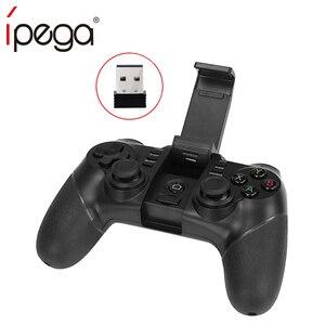 Image 5 - IPEGA 9076 غمبد وحدة تحكم بالألعاب عن بعد اللاسلكية 2.4G مقبض المقود آيفون X 8 7 plus سوني PS3 أندرويد وحدة التحكم
