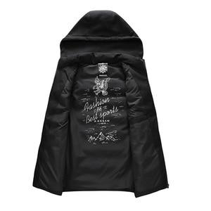 Image 5 - Cotton Vest Men Plus Size Big 6XL 7XL 8XL Large Casual Winter Sleeveless Jacket Male Hooded Thick Warm Parka Jacket Waistcoat