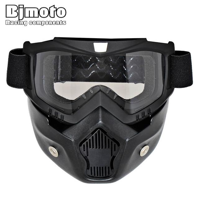 d163a5136d686 BJMOTO Patim De Esqui óculos de Proteção Da Motocicleta Óculos De Motocross  Capacete Óculos Óculos Máscara
