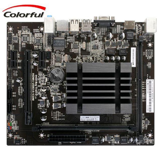 New Motherboard Gaming PC C Q1900M DDR3 Dual Channel Memory SATA3 CPU  Mainboard Micro ATX Board Desktop Computer