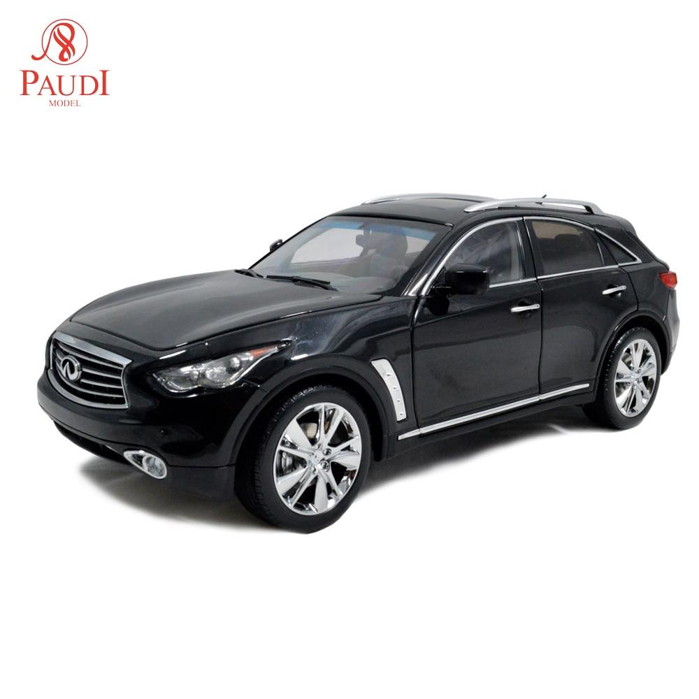 Paudi نموذج 1:18 مقياس إنفينيتي QX70 الأسود دييكاست نموذج سيارة سيارات لعبة لعبة نموذج سيارة الأبواب مفتوحة-في سيارات لعبة ومجسمات معدنية من الألعاب والهوايات على  مجموعة 1