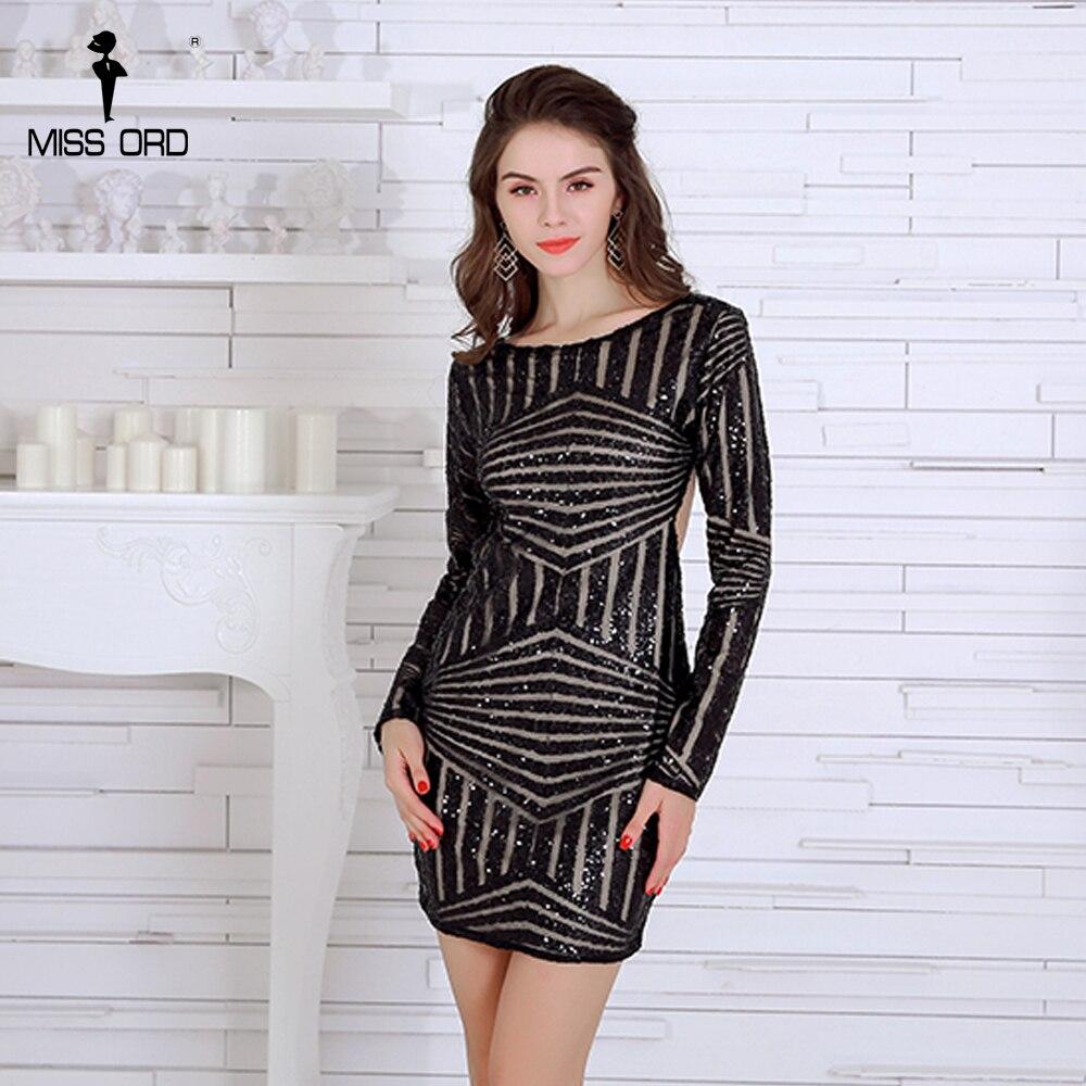 glitter jurk met lange mouwen