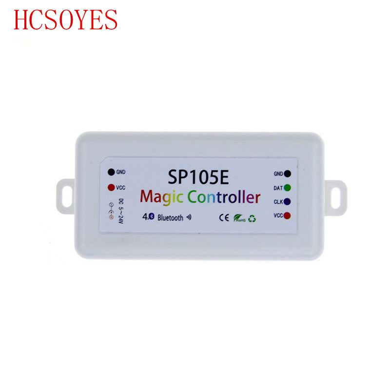 Inventive Sp108e Spi Wifi Bluetooth Pixel Ic Music Controller By Smart Phone App For Ws2812b Ws2813 Sk6812rgbw Strip Dc5-12v Clients First Lights & Lighting