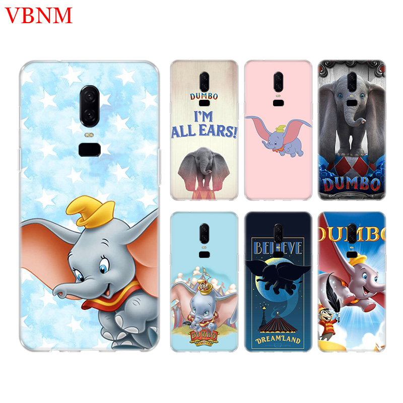 Animation Dumbo New Phone Back Case For font b OnePlus b font font b 7 b