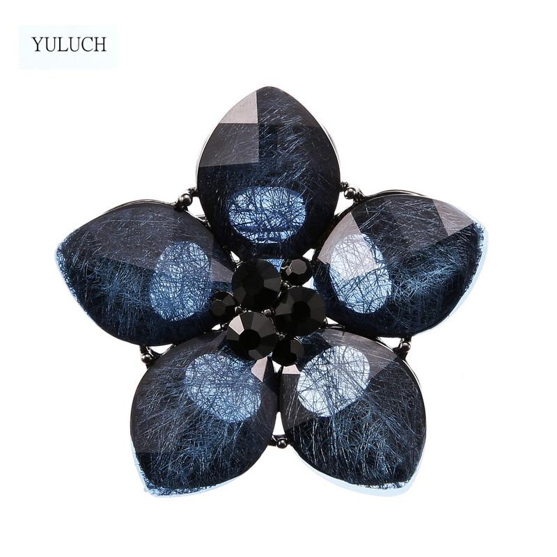 Винтажные Броши yuluch в форме шляпы с фианитом античном стиле