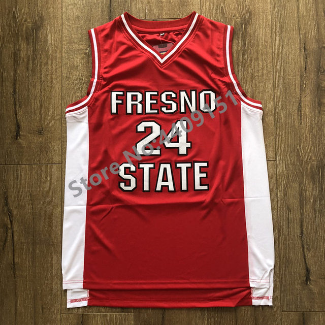 official photos 601b0 a288a US $22.75 35% OFF|2019 New Mens #24 Paul George Fresno State College  Basketball Jersey S XXL-in Basketball Jerseys from Sports & Entertainment  on ...