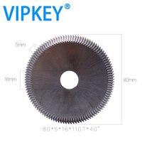 0014J HSS RAISE key cutting machine circular saw blade 80*5*16mm 110T*40 degree WENXING 217.100G2 key cutter locksmiths supply