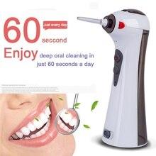 купить Portable Oral Irrigator Dental New 120ml USB Electric Rechargeable Flosser Water Flosser Portable Daily Floss Pick For Teeth по цене 1230.98 рублей