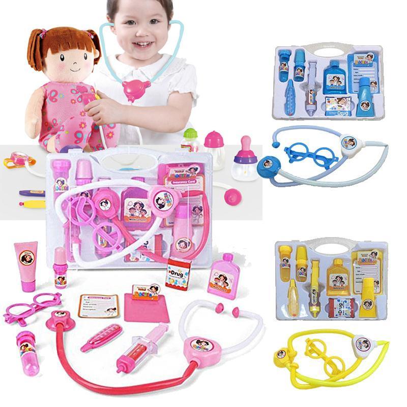 Play Toys For Girls : Child doctor play medical kit toys for girls kids
