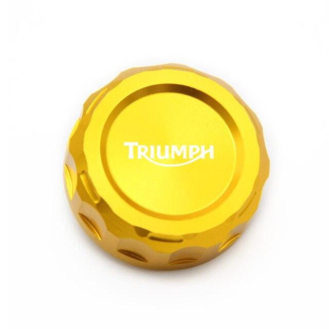For TRIUMPH DAYTONA 675/675 R SPEED TRIPLE 1050/1050 R STREET TRIPLE R TIGER 800 CNC Motorcycle Rear Brake Reservoir Cover Cap