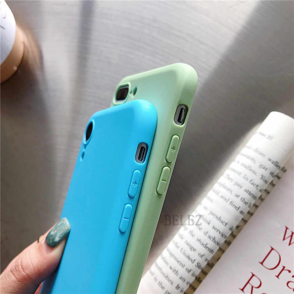 Silicone mềm Ốp Điện Thoại Cho Xiao Mi Mi 9 SE 8 Lite mi 5X 6X A1 A2 POCO F1 Mi x 2 S Max 3 Note 3 Màu Kẹo Mềm TPU Bao Fundas