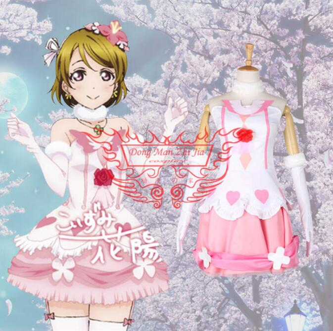 Hot Anime lovelive! cosplay Future style Hanayo Koizumi cos Masquerade Halloween party cosplay costume Sweet fight song clothes image