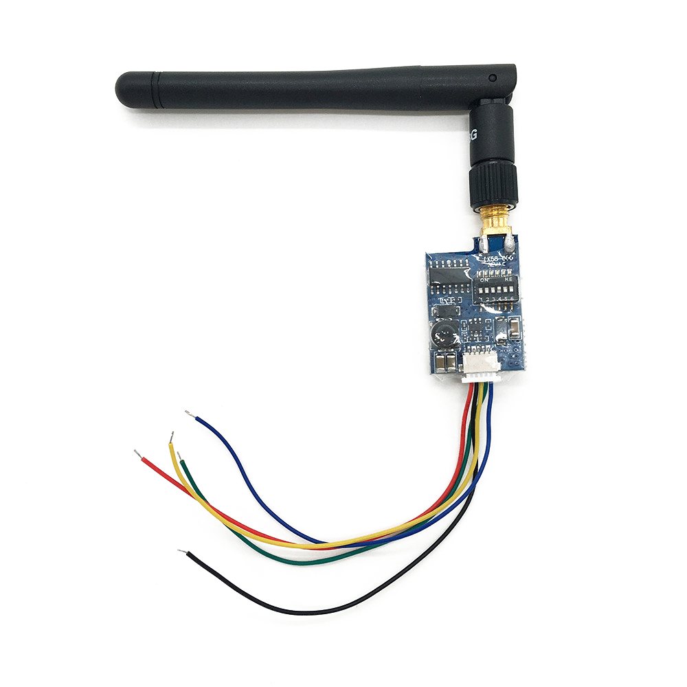 SJB  5.8G 600Mw 32Ch Av Mni Wireless Transmitter Rpsma Connector Car Video Wifi Rearview Systemtx58-600